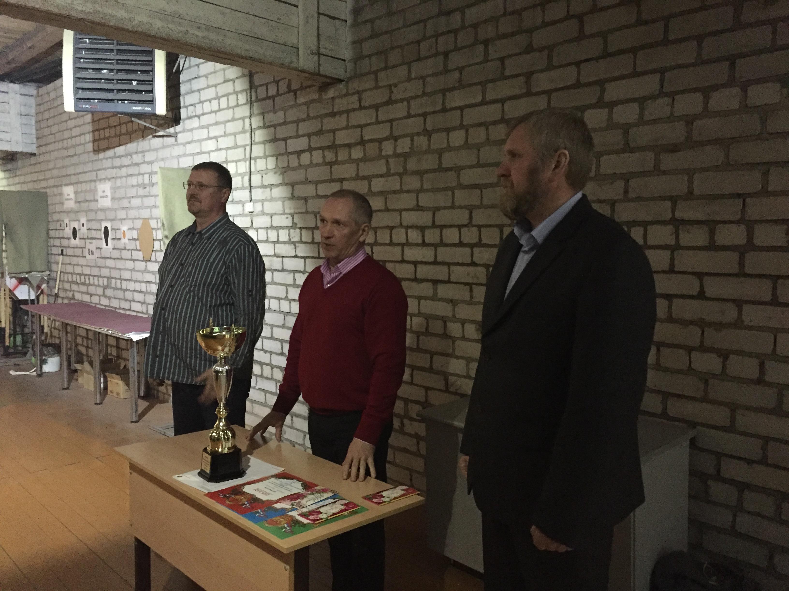 Итоги Кубка Кировской области по стрельбе из пистолета 26 февраля 2016